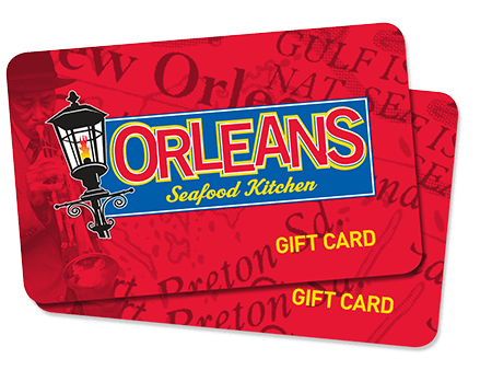 Gift Cards For Orleans Seafood Kitchen Eat At Orleans Katy Tx