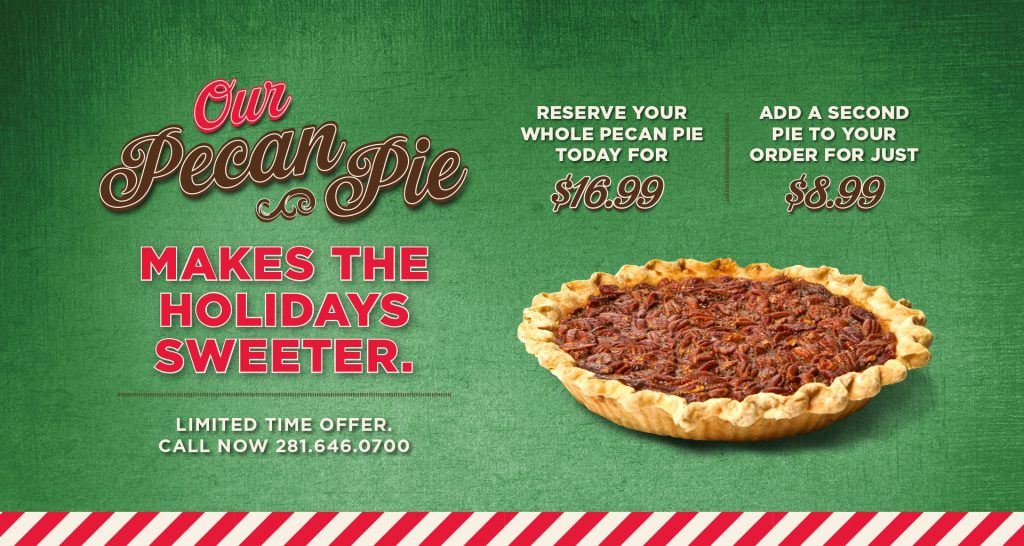 Our Pecan Pie Makes the Holidays Sweeter - Orleans Seafood Kitchen