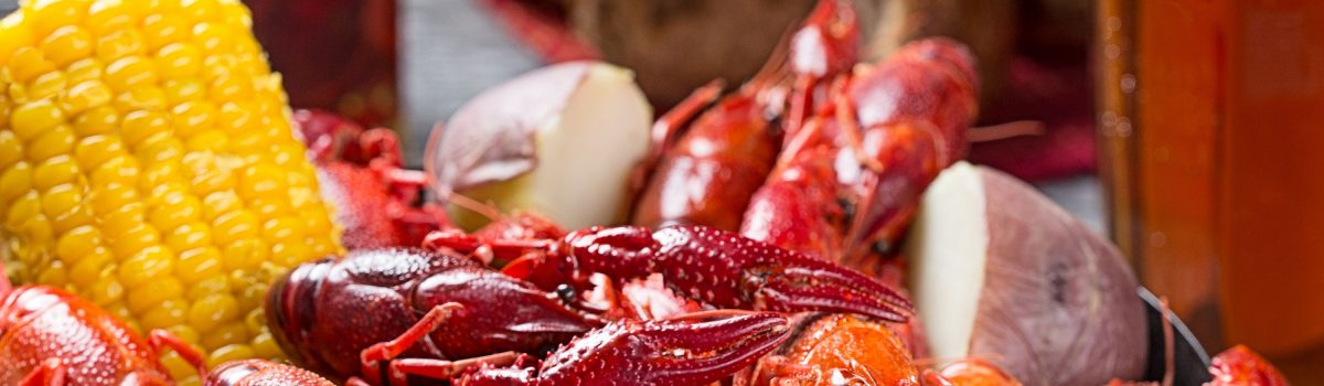 Crawfish are a great source of lean protein
