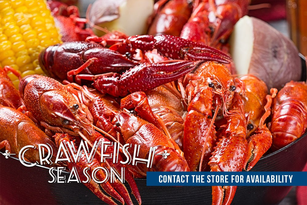 Houston Crawfish - Crawfish Season at Orleans Seafood Kitchen