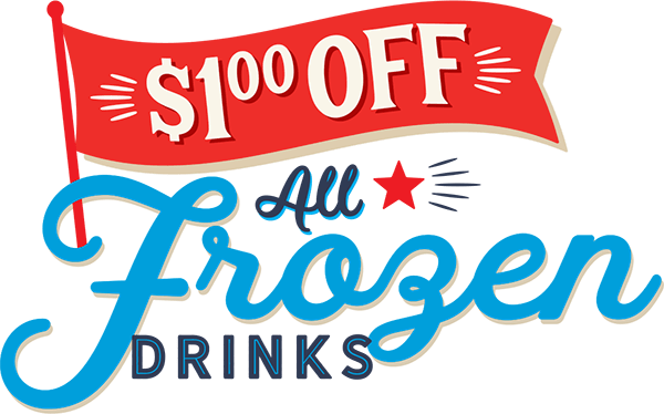 $1 Off All Frozen Drinks
