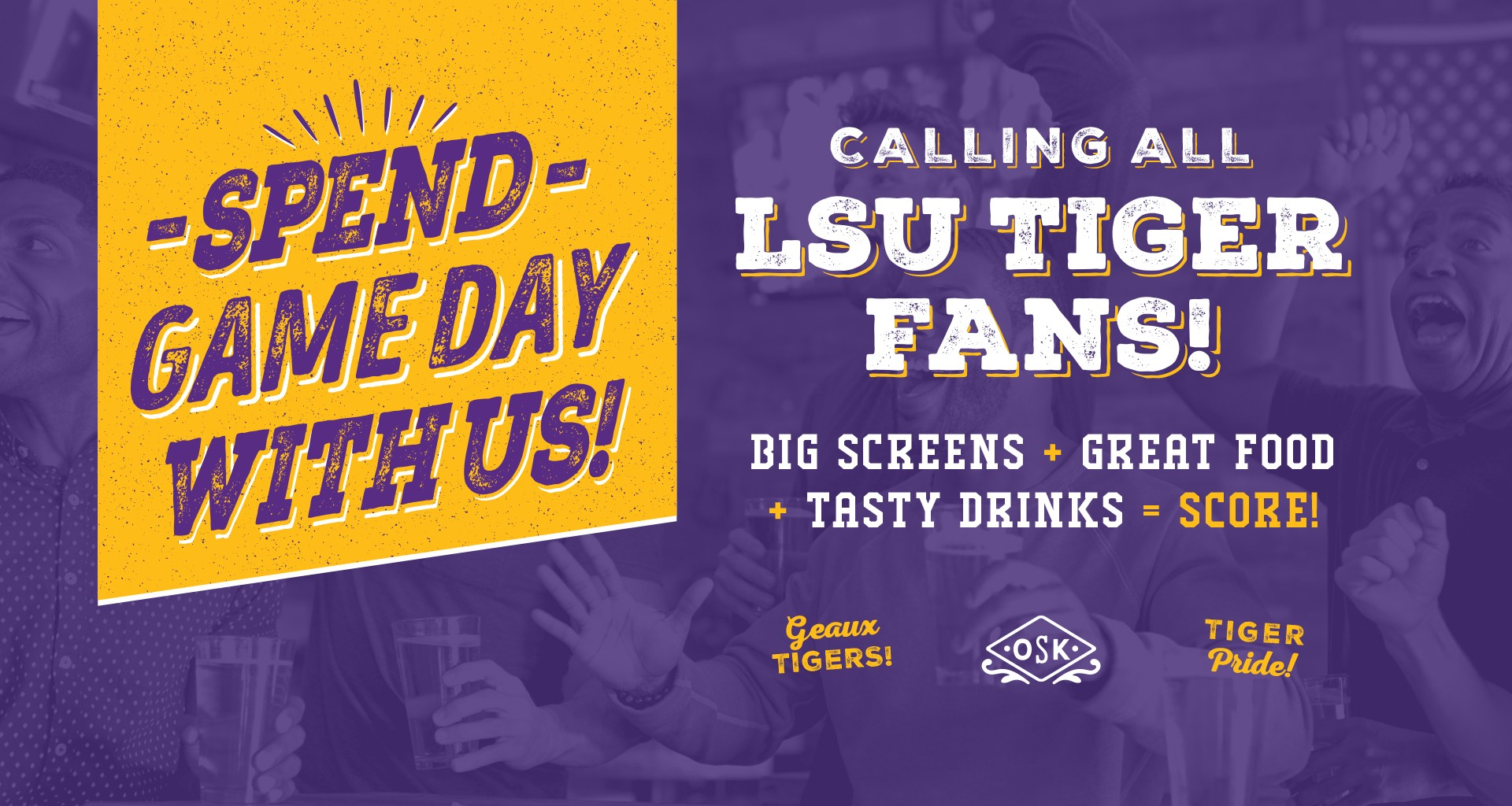 Calling All LSU Tiger Fans