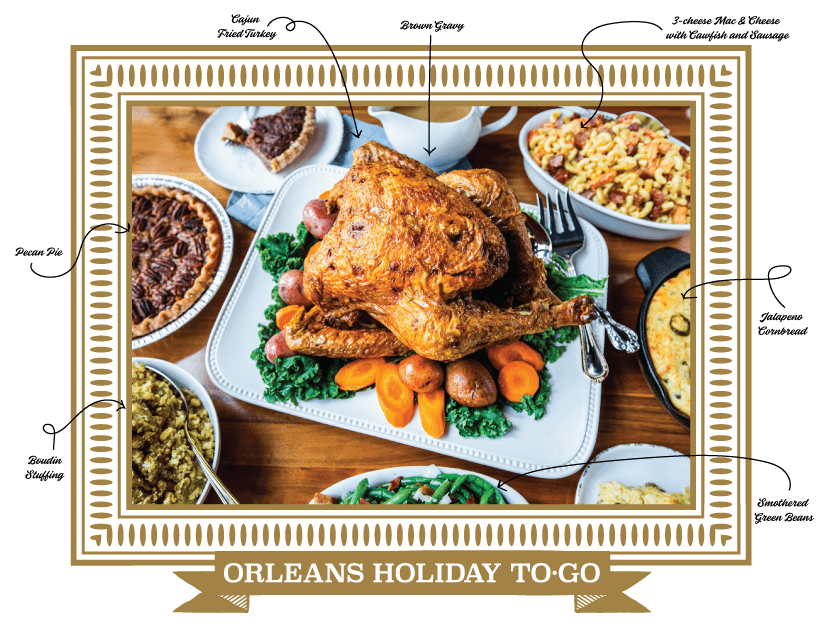 Orleans Holiday To Go | Order Today!
